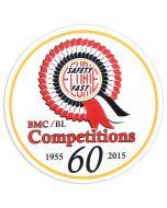 BMC 60th Anniversary Works Decal
