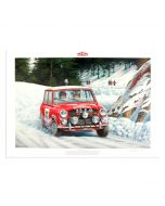 Monte Carlo Victory 1964 - Print - Signed by Paddy Hopkirk