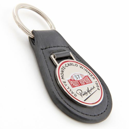 Leather Key Ring - Paddy Hopkirk