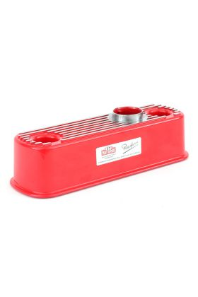 Red Alloy Rocker Cover