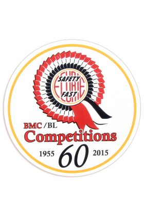 BMC 60th Anniversary Works Decal