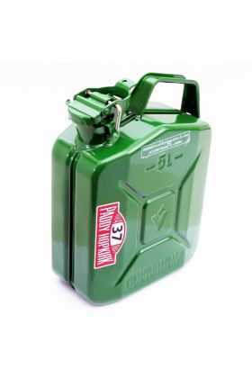 Steel Jerry Fuel Can in Green - Baylent Cap