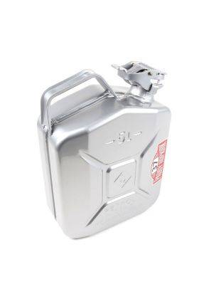 Steel Jerry Can - Silver