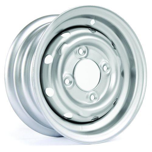 "Cooper S 4.5"" X 10"" Steel Wheel - Silver"