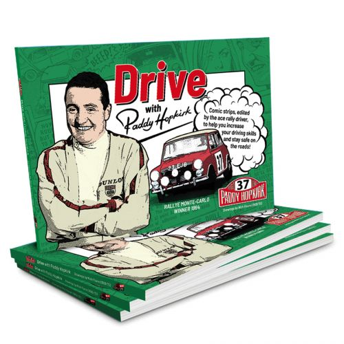 Drive with Paddy Hopkirk Book