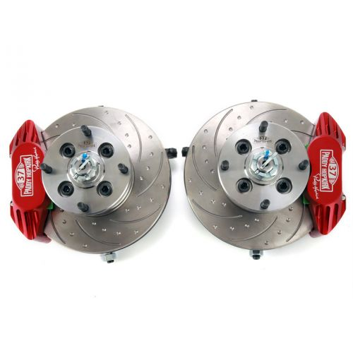 Vented Brake System Assembly for Minis with 8.4'' Discs