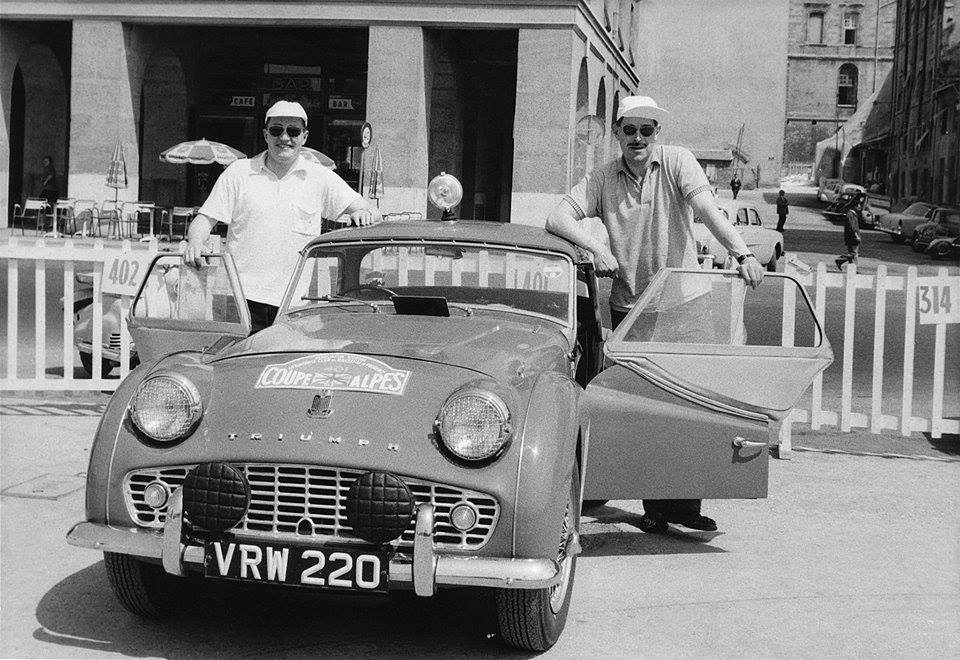Paddy Hopkirk and Jack Scott, 1958.