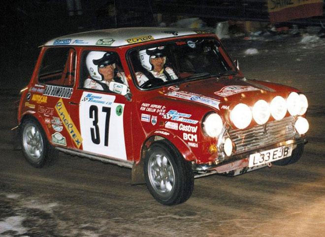 1994 Monte Carlo Rally.
