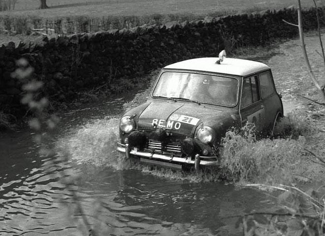 The 1963 RAC Rally.