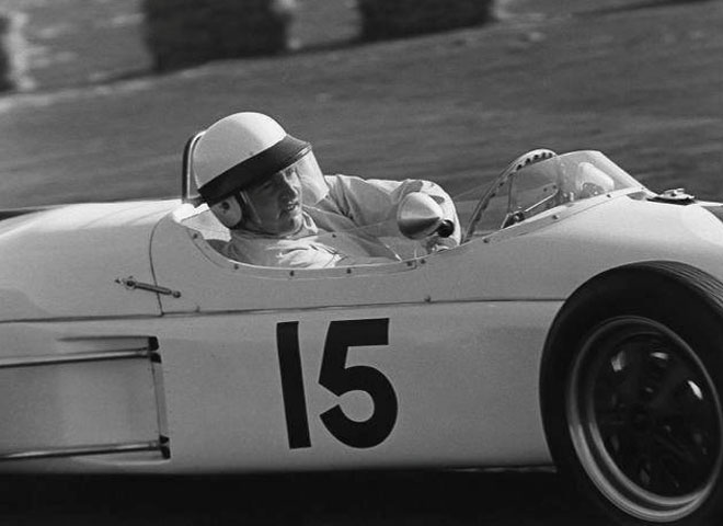 Formula Elva at Kirkistown in 1961.
