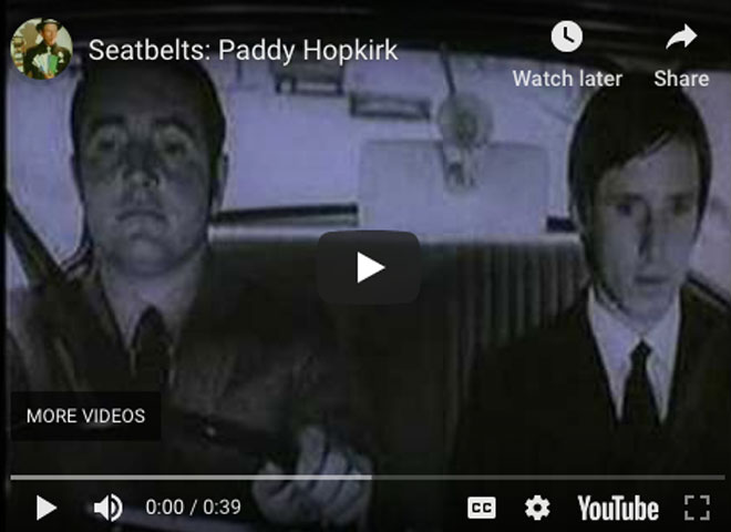 Seatbelts: Paddy Hopkirk
