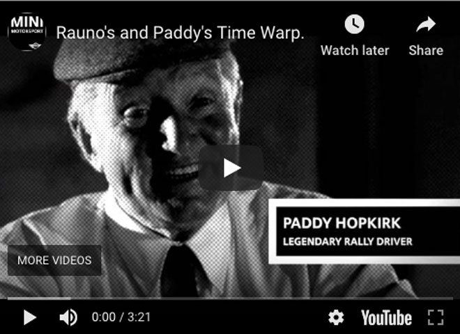 Rauno's and Paddy's Time Warp.