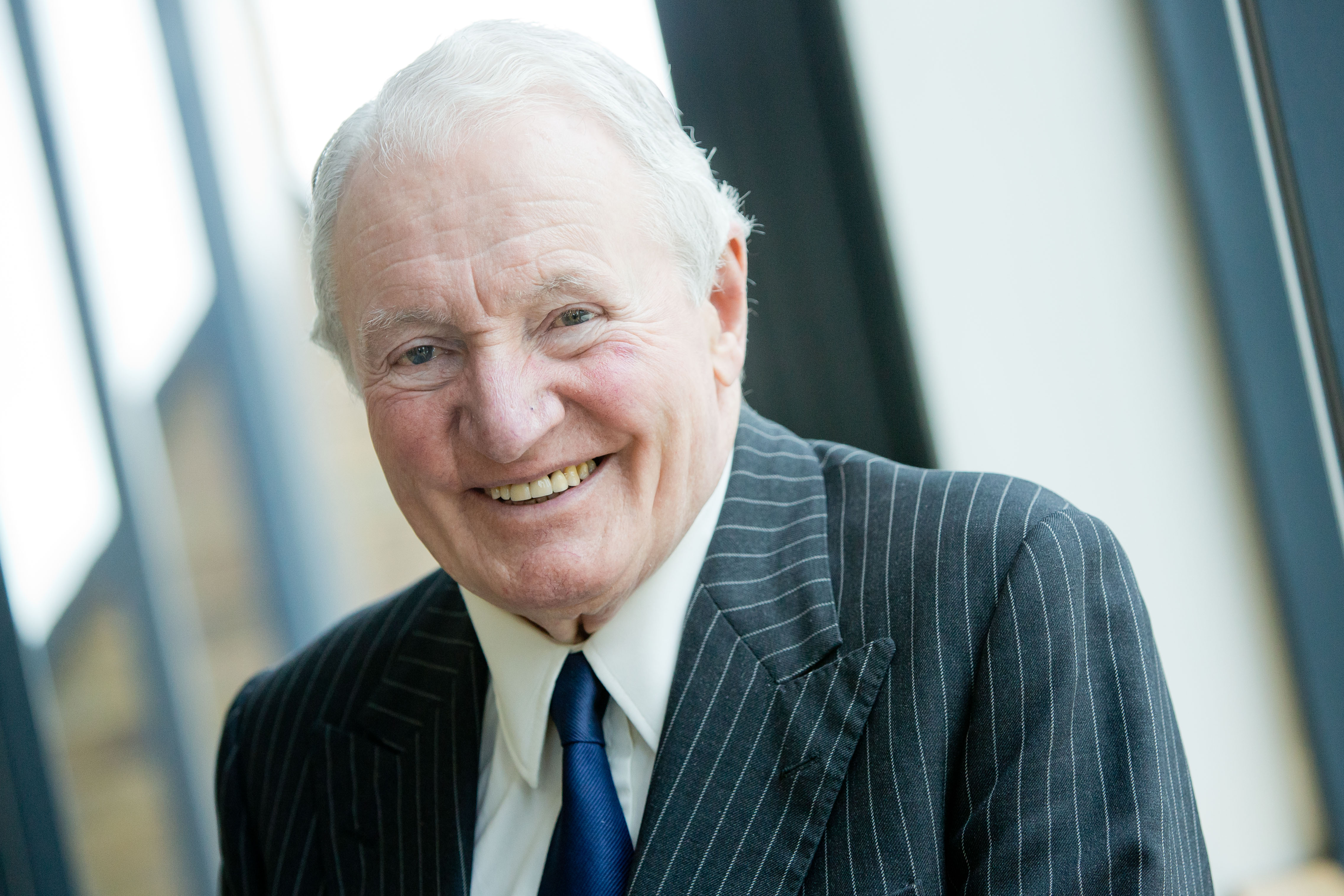 Paddy Hopkirk the Ambassador to Champion Mature Driver Safety for IAM RoadSmart