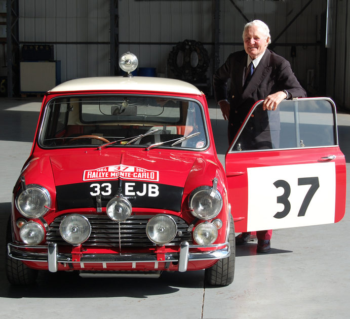 Paddy Hopkirk the Ambassador for Championing Mature Driver Safety for IAM RoadSmart