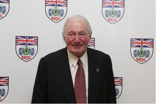Paddy Hopkirk the President of the British Racing Drivers Club